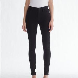 Hudson Barbara high waist jean in black